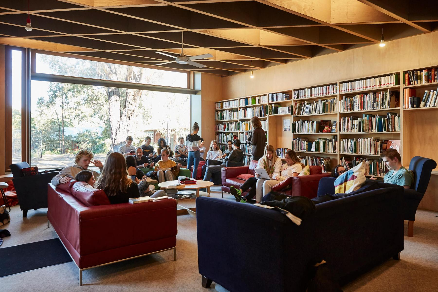 Preshil-Blackhall-Kalimna-Library