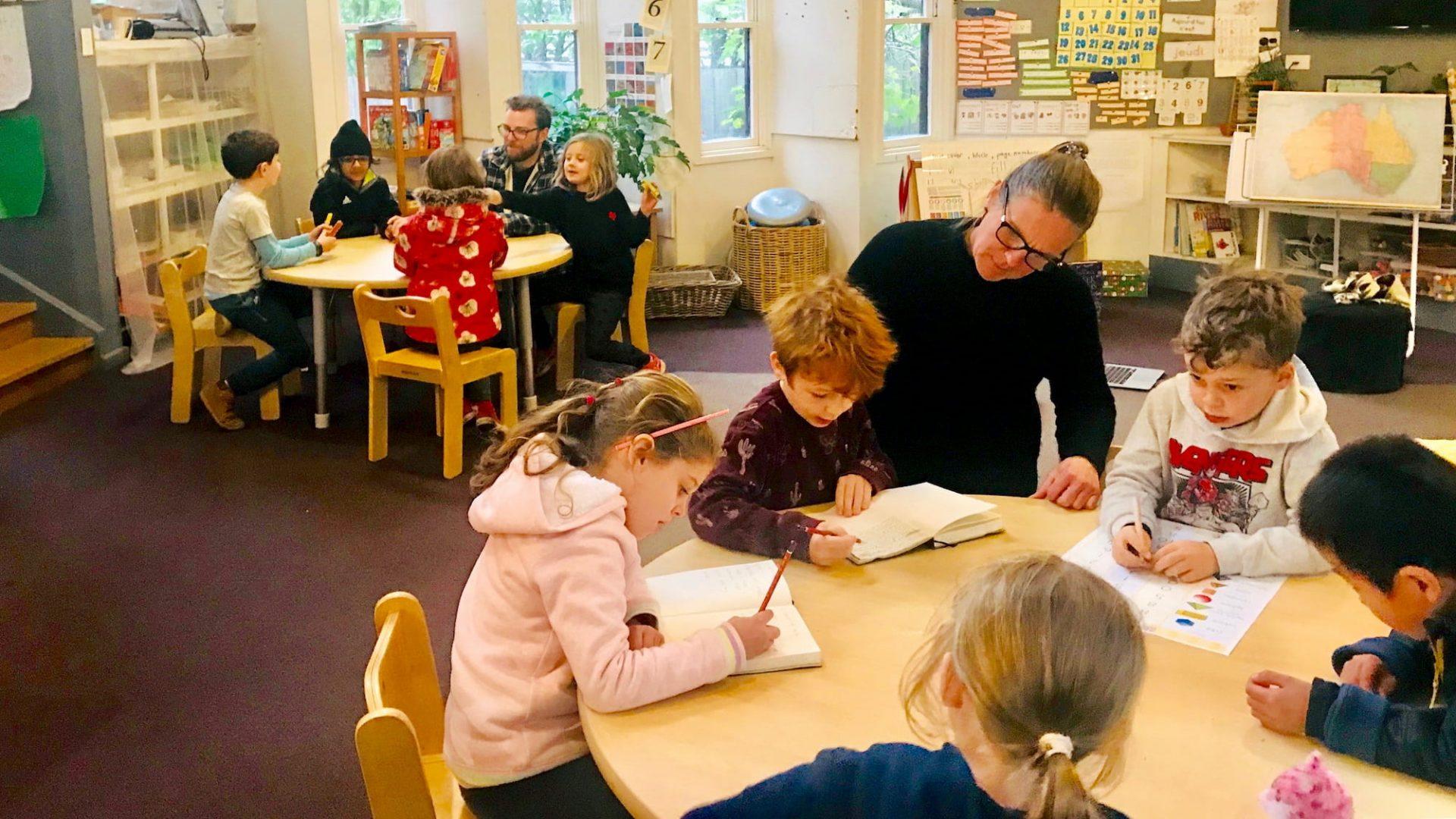 Team Teaching at Preshil